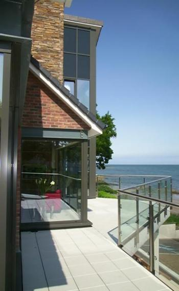 Architect designed house extension Holywood County Down.