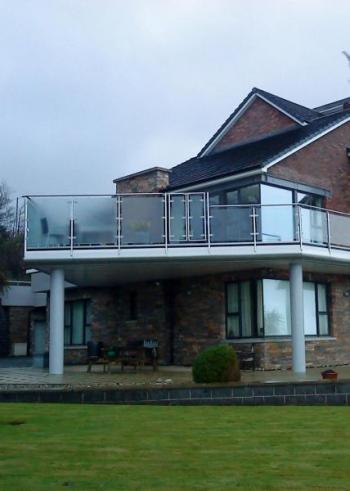 Newtownabbey House extension, Jordanstown, County Antrim.