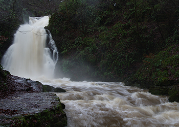 <h4> A.L.D.A. Architect Larne - Waterfall Glenoe Larne County Antrim photo 2012</h4>